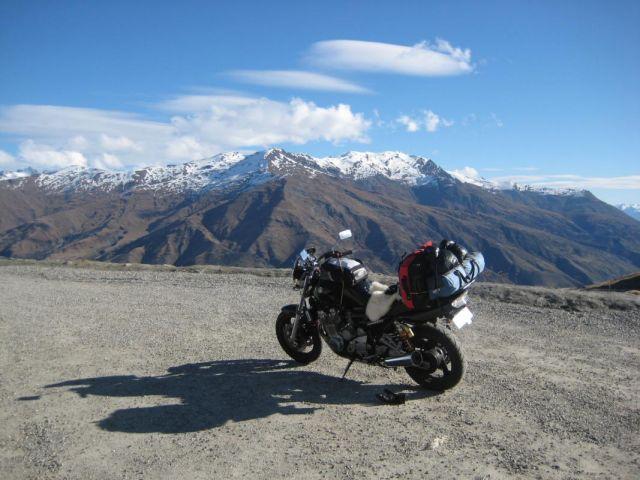 Biking in New Zealand